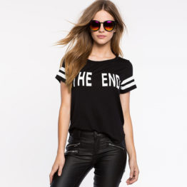 2016-Brand-Summer-Fashion-Fun-Casual-T-Shirt-Women-Black-Letter-Printed-Wild-Striped-Baseball-T.jpg_640x640